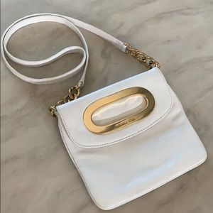 *Michael Kors* White Crossbody ⚡️LIKE NEW!!